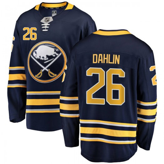 Rasmus Dahlin Buffalo Sabres Men's Fanatics Branded Navy Blue Breakaway Home Jersey