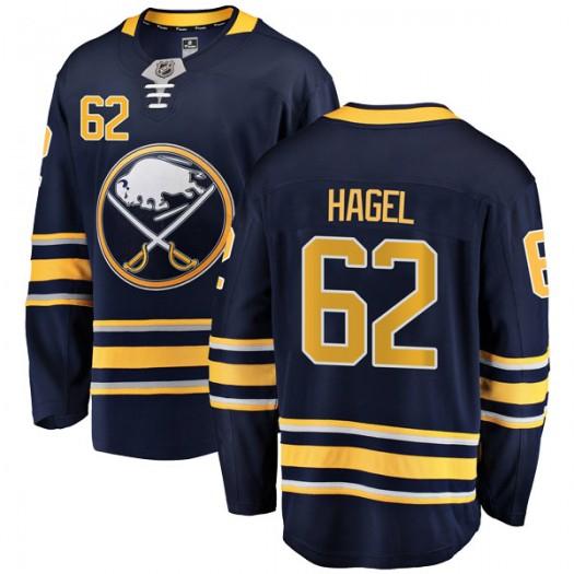 Brandon Hagel Buffalo Sabres Men's Fanatics Branded Navy Blue Breakaway Home Jersey