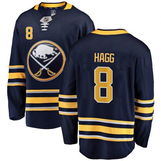 Robert Hagg Buffalo Sabres Men's Fanatics Branded Navy Blue Breakaway Home Jersey