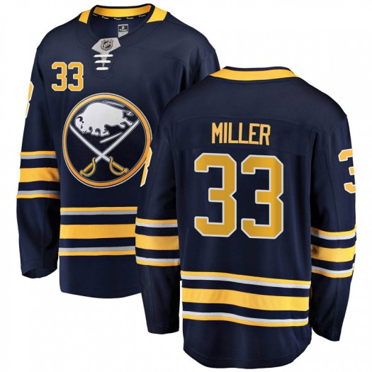 Colin Miller Buffalo Sabres Men's Fanatics Branded Navy Blue Breakaway Home Jersey