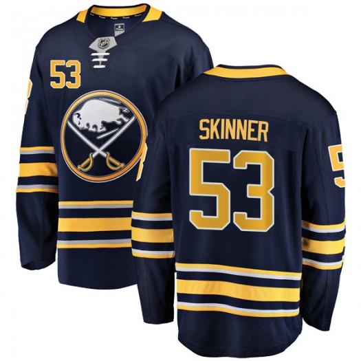 Jeff Skinner Buffalo Sabres Men's Fanatics Branded Navy Blue Breakaway Home Jersey