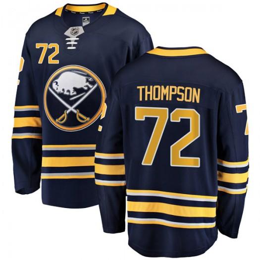 Tage Thompson Buffalo Sabres Men's Fanatics Branded Navy Blue Breakaway Home Jersey