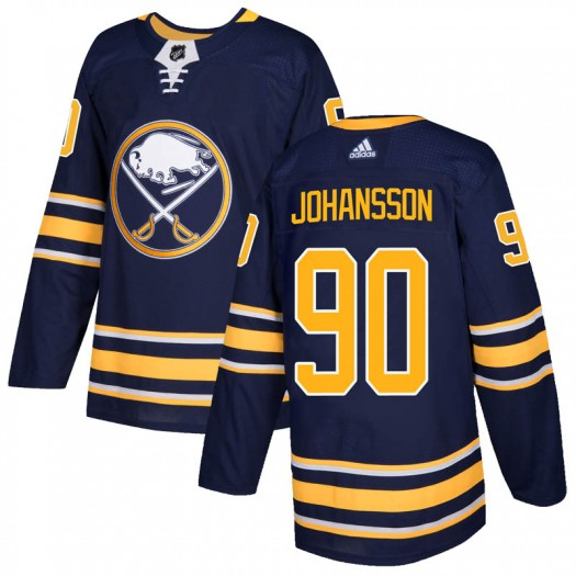 Marcus Johansson Buffalo Sabres Men's Adidas Authentic Navy Home Jersey