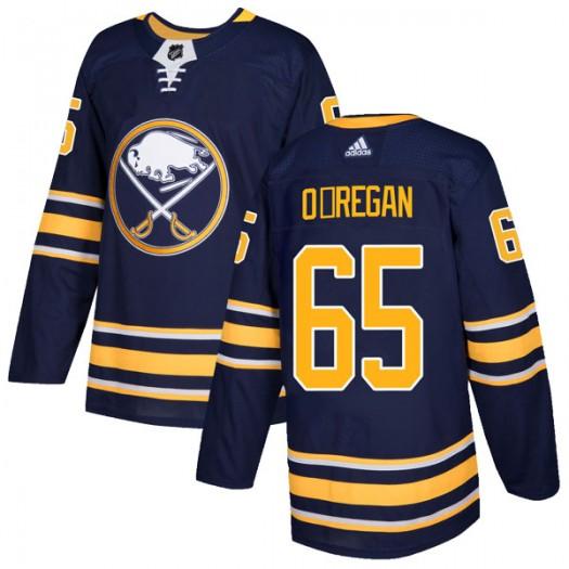Danny O'Regan Buffalo Sabres Men's Adidas Authentic Navy Home Jersey