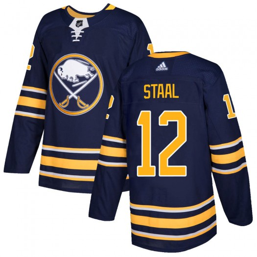 Eric Staal Buffalo Sabres Men's Adidas Authentic Navy Home Jersey