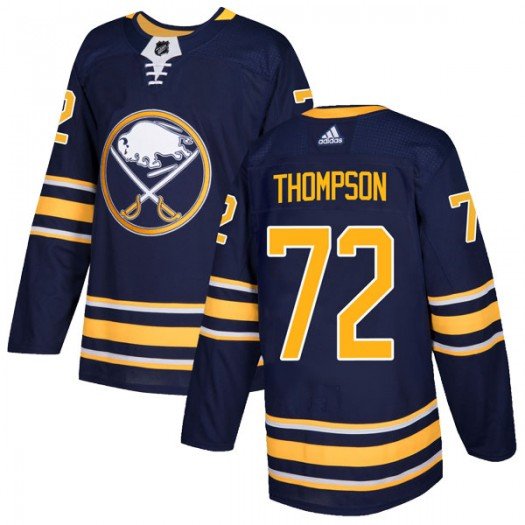 Tage Thompson Buffalo Sabres Men's Adidas Authentic Navy Home Jersey