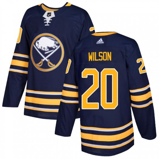 Scott Wilson Buffalo Sabres Men's Adidas Authentic Navy Home Jersey