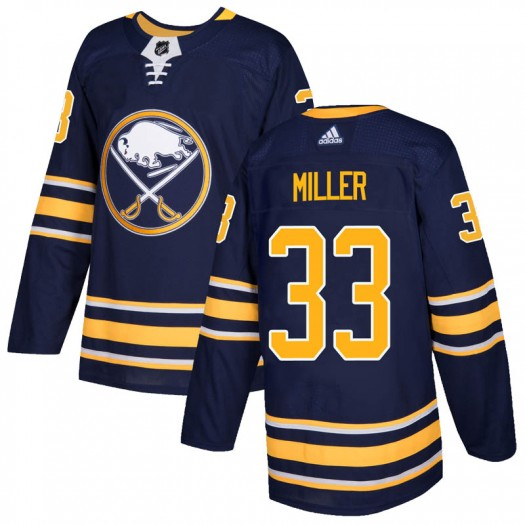 Colin Miller Buffalo Sabres Youth Adidas Authentic Navy Home Jersey