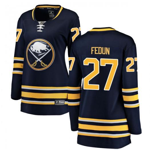 Taylor Fedun Buffalo Sabres Women's Fanatics Branded Navy Blue Breakaway Home Jersey
