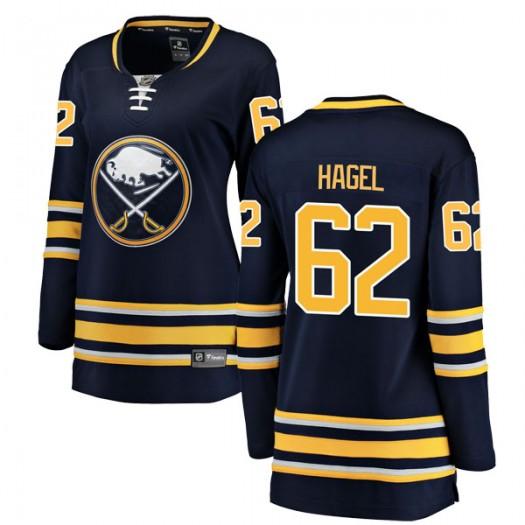 Brandon Hagel Buffalo Sabres Women's Fanatics Branded Navy Blue Breakaway Home Jersey