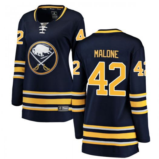 Sean Malone Buffalo Sabres Women's Fanatics Branded Navy Blue Breakaway Home Jersey