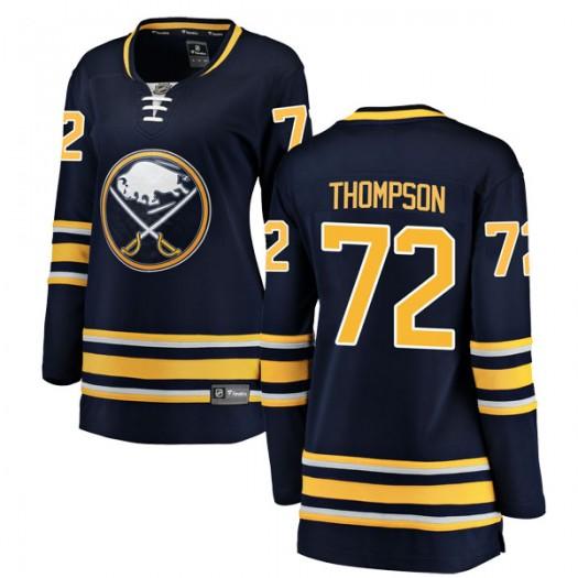 Tage Thompson Buffalo Sabres Women's Fanatics Branded Navy Blue Breakaway Home Jersey