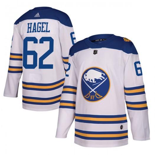 Brandon Hagel Buffalo Sabres Men's Adidas Authentic White 2018 Winter Classic Jersey