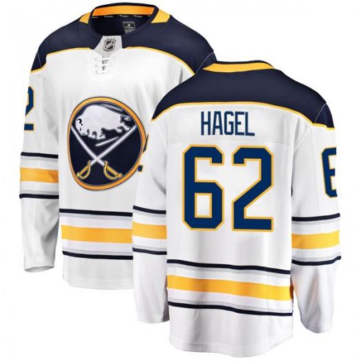 Brandon Hagel Buffalo Sabres Men's Fanatics Branded White Breakaway Away Jersey