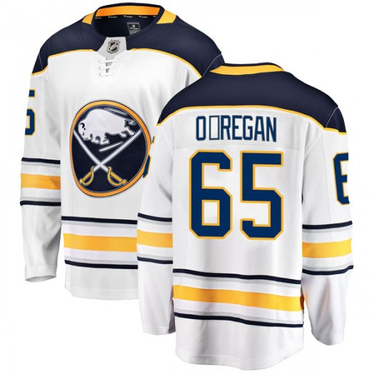Danny O'Regan Buffalo Sabres Men's Fanatics Branded White Breakaway Away Jersey
