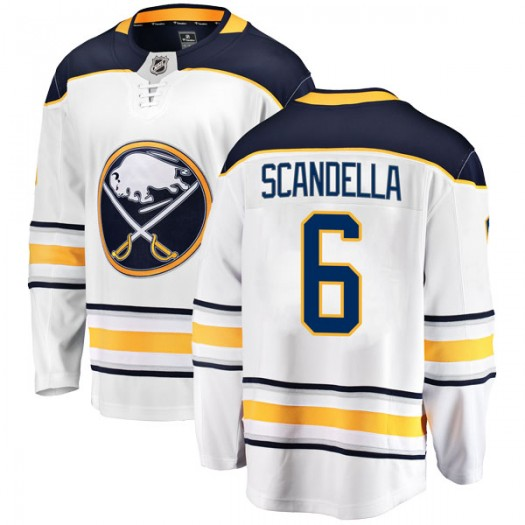 Marco Scandella Buffalo Sabres Men's Fanatics Branded White Breakaway Away Jersey
