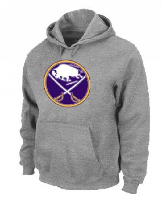 Buffalo Sabres Men's Grey Pullover Hoodie
