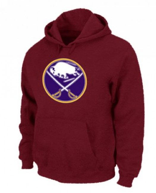 Buffalo Sabres Men's Red Pullover Hoodie