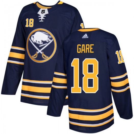 Danny Gare Buffalo Sabres Men's Adidas Authentic Navy Jersey