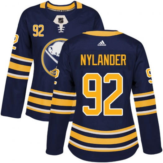 Alexander Nylander Buffalo Sabres Women's Adidas Authentic Navy Blue Home Jersey