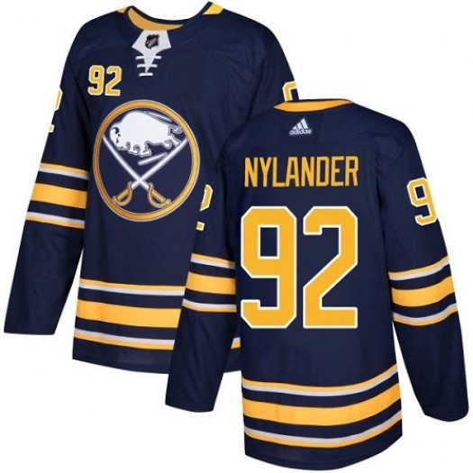 Alexander Nylander Buffalo Sabres Youth Adidas Authentic Navy Blue Home Jersey