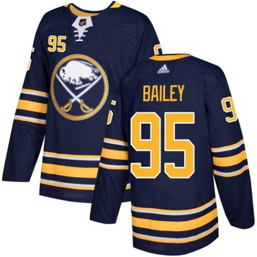 Justin Bailey Buffalo Sabres Youth Adidas Authentic Navy Blue Home Jersey