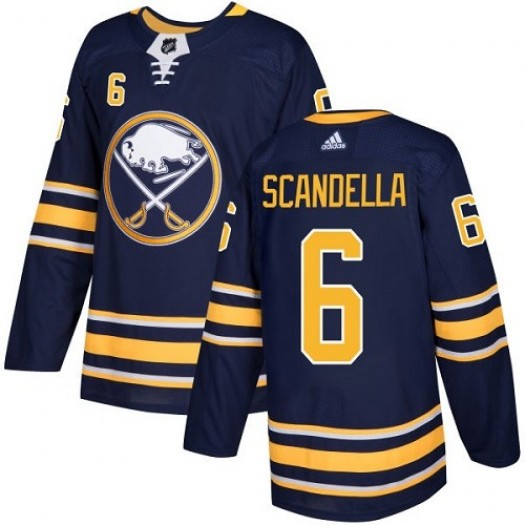 Marco Scandella Buffalo Sabres Youth Adidas Authentic Navy Blue Home Jersey
