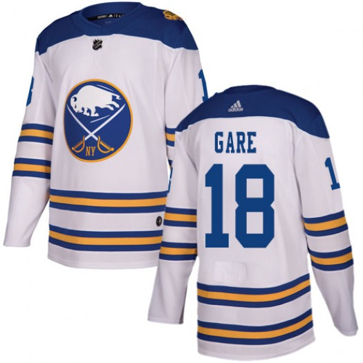 Danny Gare Buffalo Sabres Youth Adidas Authentic White 2018 Winter Classic Jersey